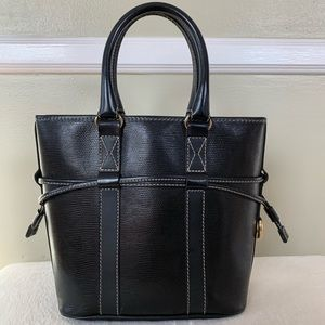 Lancel Paris Leather handbag come with small pouch